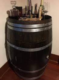 Steamer Bar Cabinet Wine Barrel Liquor Cabinet Or The Never Ending Project Steph Bar