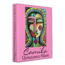 quinceanera photo album quinceanera album custom binders zazzle