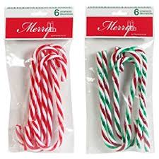 plastic candy canes wholesale christmas house plastic candy ornaments 2 6 ct
