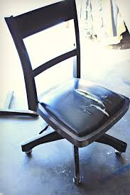Bankers Chair Cushion How I Made Over My Old Banker U0027s Chair Knock It Off Kim