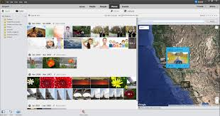 organize photos and videos places view in elements organizer
