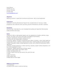 property management resume samples resume templates building maintenance resume for building maintenance manager