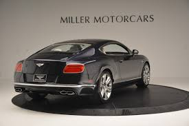 bentley continental 2016 black 2016 bentley continental gt v8 s stock b1147 for sale near