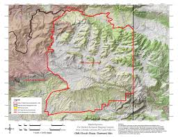 The Forest Game Map Utah Dwr Hunt Map South Slope Diamond Mountain Buck Deer Bull
