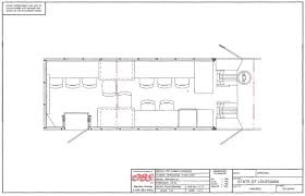 mobile classroom sample floor plan by obs inc