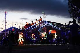 the house of lights melbourne welcome to the melbourne street that takes christmas very seriously