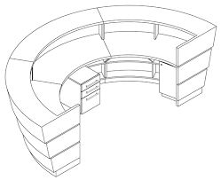 Reception Desk Cad Images Architectural Millwork Drafting Autocad Shop Drawings