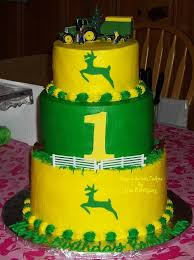john deere 1st birthday for twins u2014 first birthday cakes little
