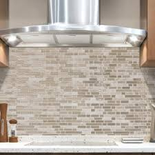 Peel And Stick Backsplash Tile Kitchen Bar Update Your Cooking - Lowes peel and stick backsplash