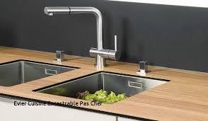 l evier de cuisine evier cuisine castorama with dessus de cuisine meuble evier de