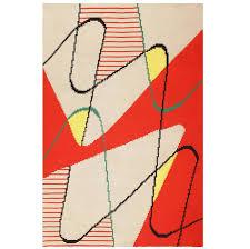 Carpet Rug Org Modernist Carpet By Antonin Kybal For Sale At 1stdibs