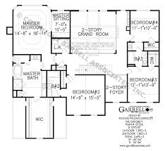 colonial style floor plans oxford f house plan house plans by garrell associates inc