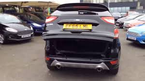 ford kuga titanium x sport tdci black 2015 youtube