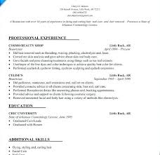 cosmetology resume templates cosmetologist resume cliffordsphotography