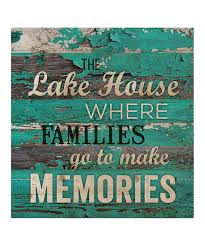 look at this zulilyfind u0027the lake house u0027 wall sign by p graham