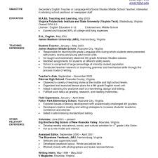 resume format for fresher english teachers how to resume in english therpgmovie