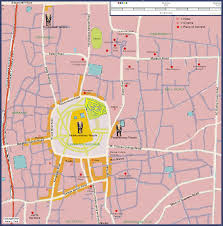 Kerala India Map by Thrissur Kerala India City Map