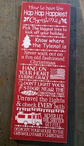 christmas sign funny clark griswold little blue barn online