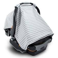 Universal Car Seat Canopy by Oxgord 2 In 1 Nursing Blanket Scarf Cover Up Apron For