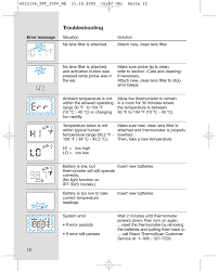 troubleshooting braun thermoscan irt 3020 user manual page 12 16