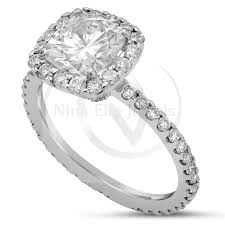 Harry Winston Wedding Rings by 1ct Cushion Cut Harry Winston Style Diamond Engagement Ring C11