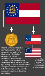 Facts About Georgia State Flag All Of The U0027meaning Of Flag U0027 Posts Vexillology