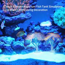 Coral Plant Aquarium Background Silicone Fish Tank Decoration