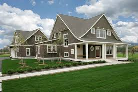 awesome landscaping western style house exterior designs house