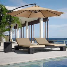 10 Foot Patio Umbrella Top 7 Best Offset Patio Umbrella In 2018 Reviews Buyer S Guides