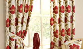Retro Floral Curtains Curtains Appealing Floral Curtains India Horrifying