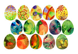 decorative eggs watercolor decorative eggs ornamental decor watercolor