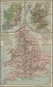 British Isles Map Historical Maps Of The British Isles