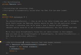 tutorial netbeans y mysql database operations in javafx