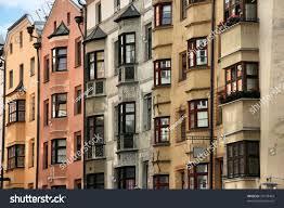 old town buildings windows innsbruck tirol stock photo 31578403