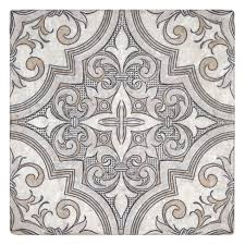 designer tile on limestone perle blanc unique patterns designs