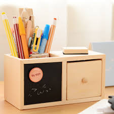 Pencil Holders For Desks Korean Multifuncitonal Desktop Pencil Holders Office Accessories