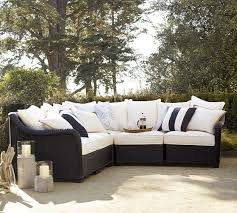 Pottery Barn Wicker Pottery Barn Palmetto Designing Outside Living Area W Palmetto