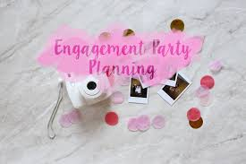 decorations for engagement party at home engagement party planning tips ideas and styling mademoiselle