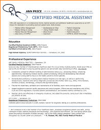 Medical Assistant Sample Resumes by 8 Resume Format For Medical Assistant Inventory Count Sheet