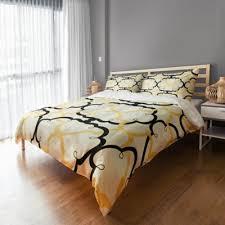 buy black gold duvet cover from bed bath u0026 beyond
