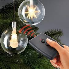 wireless led tree balls with remote