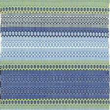 Teal Outdoor Rug Dash And Albert Fiesta Stripe French Blue Green Indoor Outdoor Rug