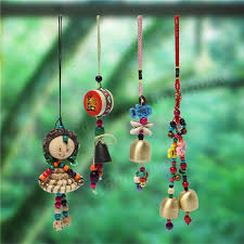 style wind chime bell hanging ornament home yard garden