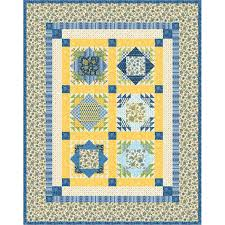 robert kaufman fabrics la provence cote d azure quilt kit 54 by