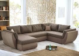 sofa leder braun u formige leder eckcouch ecksofa sofa u form millesimo