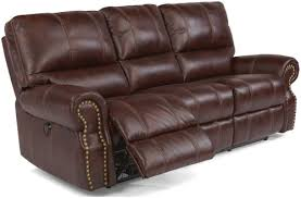 Flexsteel Power Reclining Sofa Flexsteel Latitudes Carlton Traditional Power Reclining Sofa With