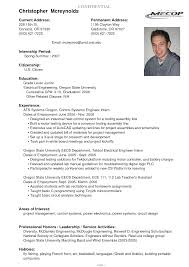 Resume Format Pdf For Electrical Engineer by Resume Student Resume Template