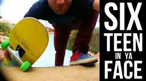six teen in ya face backyard skate ramp sesh kids playgrounds