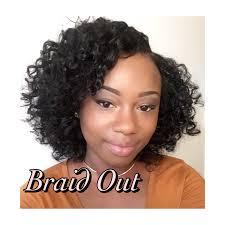 braid out natural hair braid out on straight natural hair youtube
