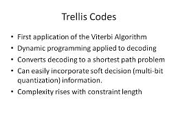 trellis quantization classical coding for forward error correction prof ja ritcey univ